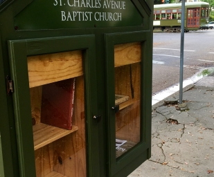 Little Library box